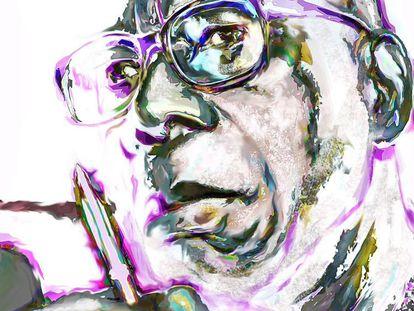 El asunto del escritor africano
