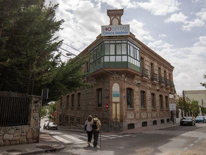 Fachada de la Clínica Isadora, el viernes 24 de septiembre de 2021.