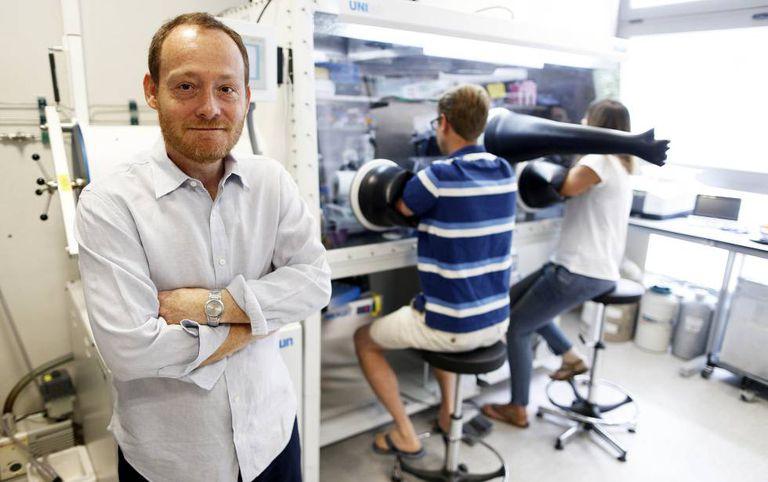 Luis Manuel Rubio, en el Centro de Biotecnología y Genética de Plantas (Madrid).