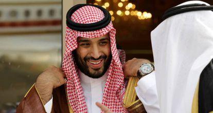 El principe saudí Mohamed Bin Salmán, en 2012.
