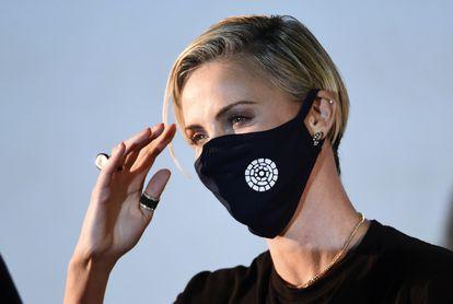 La actriz Charlize Theron, el pasado julio en Los Ángeles.