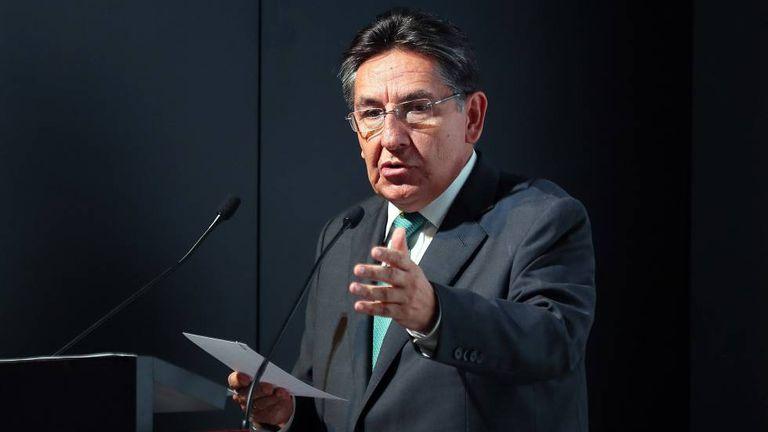 El ex fiscal general colombiano Néstor Humberto Martínez, en una imagen de archivo.
