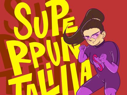 Nace 'Súper Puntalilla', la superheroína que enseña feminismo.