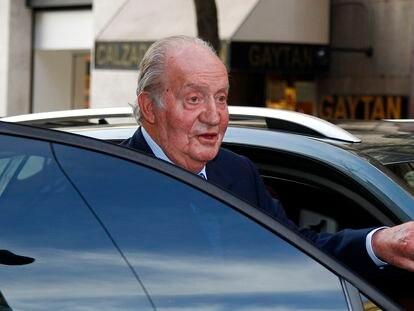 El rey emérito, en Madrid en diciembre de 2018.