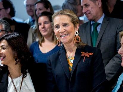 Elena de Borbón, en Madrid, el pasado junio.