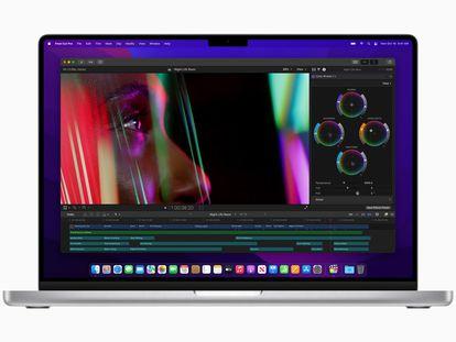 Imagen del MacBook Pro de 16 pulgadas presentado este lunes por Apple.