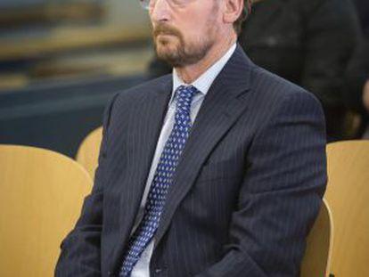 Marcial Dorado, durante su juicio en la Audiencia Nacional.