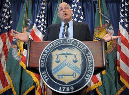 Henry Paulson, secretario del Tesoro de Estados Unidos.