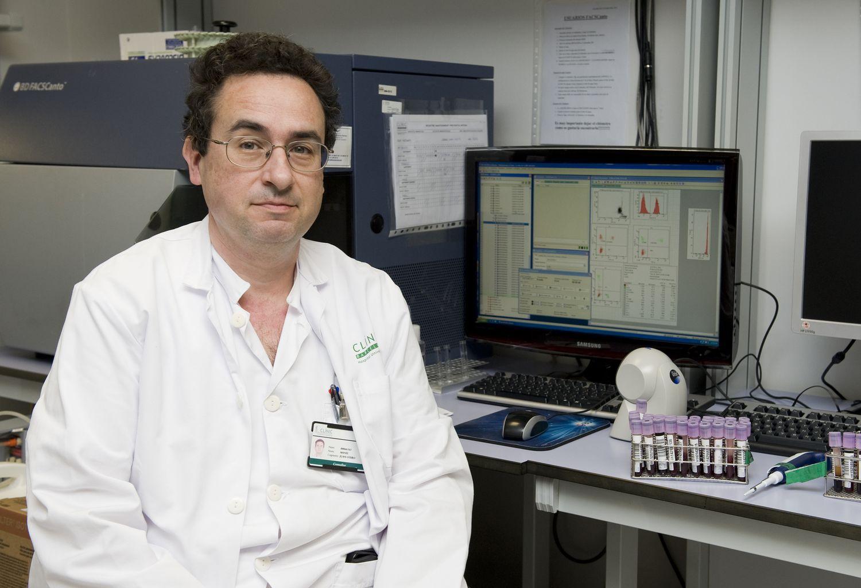 Manel Juan, jefe del servicio de Inmunología del Hospital Clìnic de Barcelona.