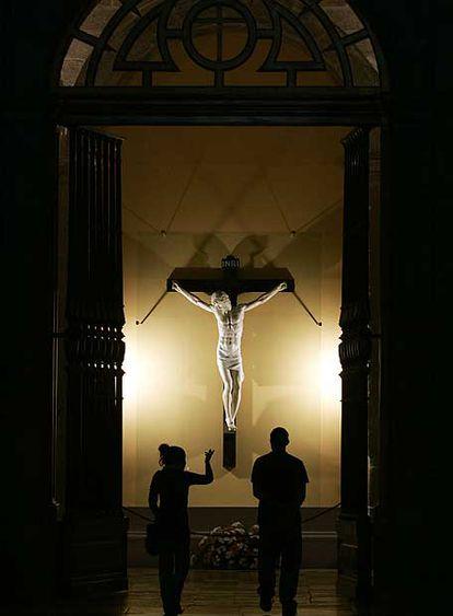 Talla de Cristo de Benvenuto Cellini.