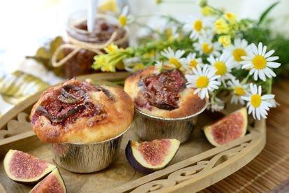 Muffins de higo.