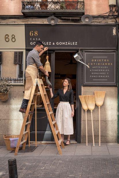 Javier Carasco Gonzalez y Maria Rosa Amor Gonzalez, creadores de Casa González & González.