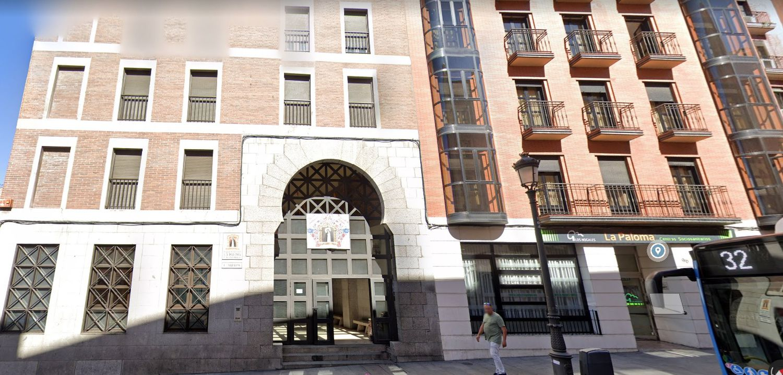 Imagen de Google Maps del número 98 de la calle de Toledo en Madrid.