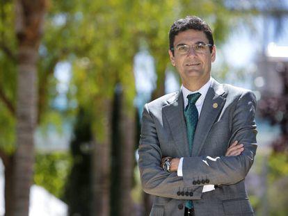 Francisco Mora, recién elegido rector de la Universidad Politécnica.