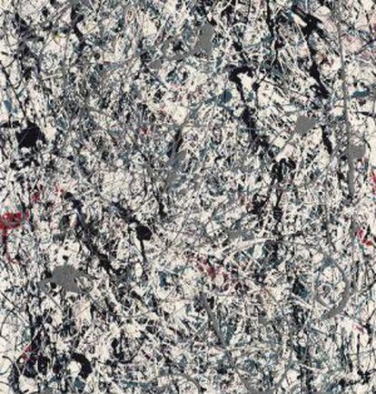 'Número 19, 1948', de Jason Pollock, la obra por la que más se pujó en la histórica subasta de Christie´s, 58,3 millones de dólares.