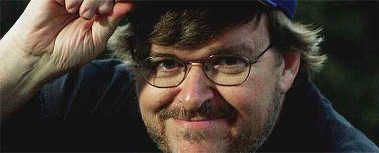 Michael Moore, fotografiado en 2002 en Los Ángeles.