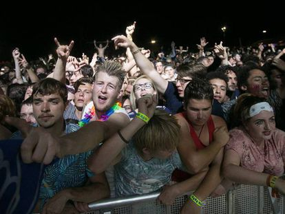 Miles de jóvenes durante un festival. / EP