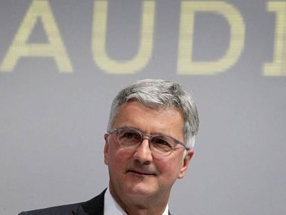 Rupert Stadler, consejero delegado de Audi.