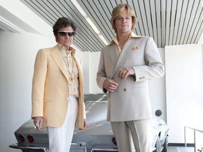 Michael Douglas y Matt Damon en una imagen de 'Behind the Candelabra'.