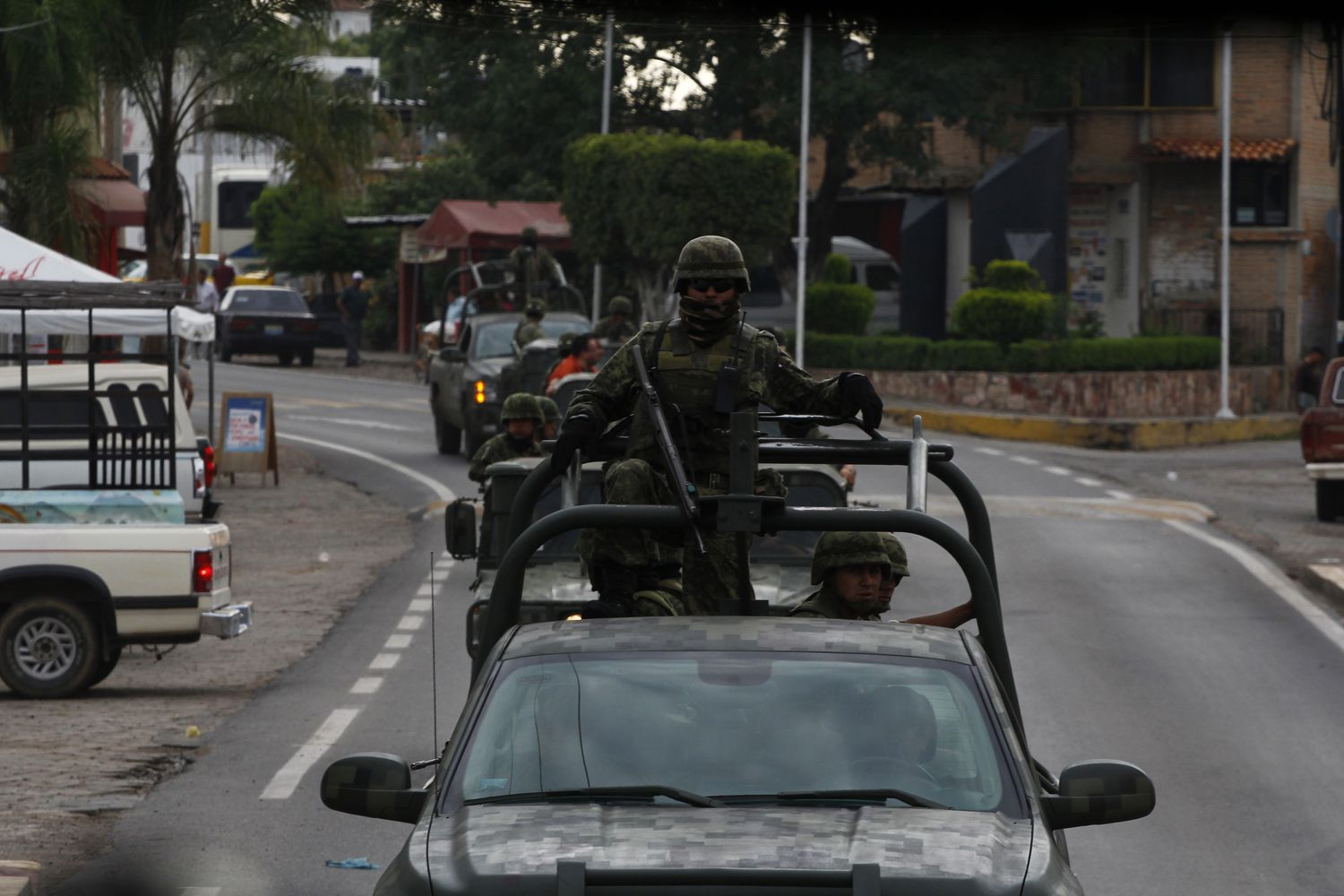 Military operation in Nayarit and Jalisco against the Beltrán Leyva cartel.