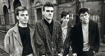 La banda británica The Smiths, paradigma del 'indie'.