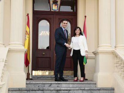 """Cuando las administraciones propician el diálogo sincero, tranquilo y moderado es en beneficio de los ciudadanos"""", afirma el presidente en La Rioja dos días después de la mesa de diálogo"""