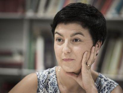 Eva Granados, portavoz del grupo parlamentario del PSC.