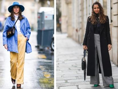 Pantalones elegantes y a la moda que lucen las prescriptoras de moda en sus estilismos diarios. GETTY IMAGES