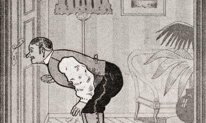 'Lo que vio el mayordomo', Eduard Fuchs (1909)