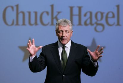 Chuck Hagel, en una foto de archivo de 2007.