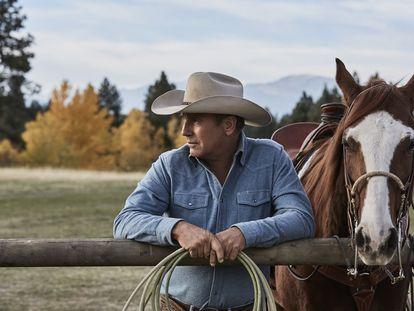 Kevin Costner, en una imagen de 'Yellowstone'.