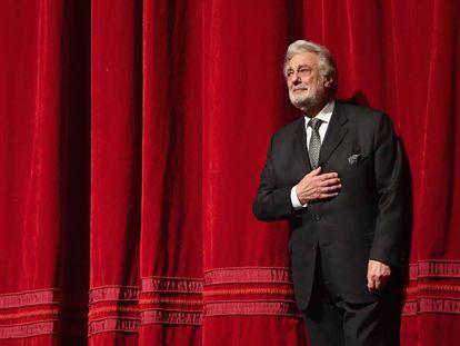 Plácido Domingo, el pasado noviembre en la Ópera Metropolitana de Nueva York.