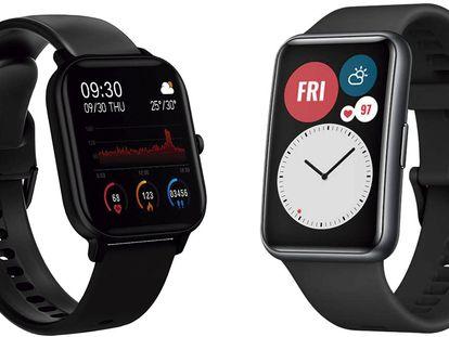 Siete de los 'smartwatches' más vendidos en Amazon