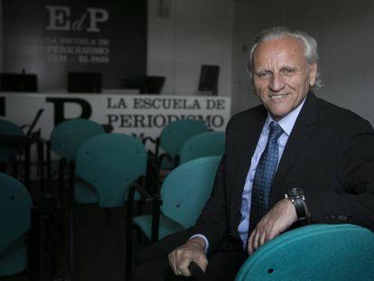 Álex Grijelmo en la Escuela de Periodismo UAM-EL PAÍS.