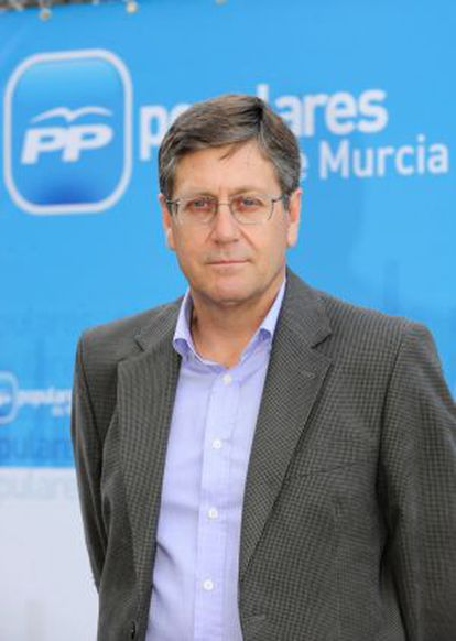 Juan Bernal, consejero de Economía de Murcia.