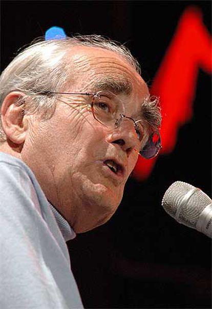 El compositor Michel Legrand, en Montreux.
