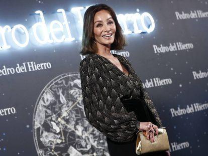 Isabel Preysler en la Pasarela Cibeles el pasado 29 de enero.