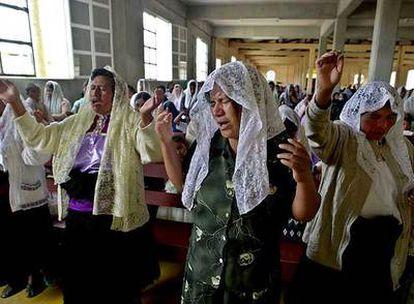 La Iglesia católica en Estados Unidos se sostiene por los inmigrantes. Lo mismo podría decirse de la evangélica en España.