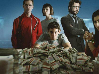 En vídeo, el nuevo episodio de 'Lo está petando', con los protagonistas de la Casa de Papel hablando de la tercera temporada de la serie.