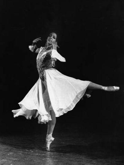 La bailarina Marta García.