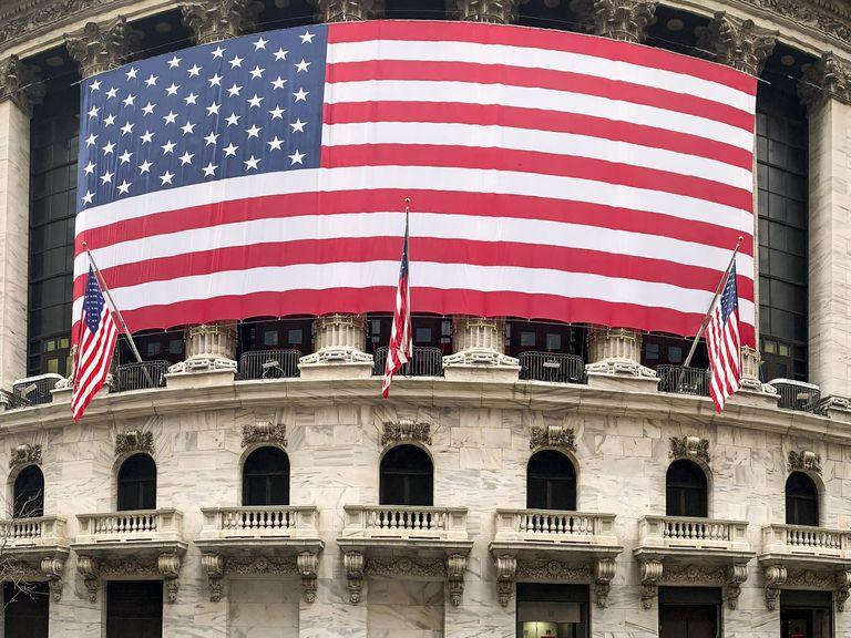 Exterior de la Bolsa de Nueva York.