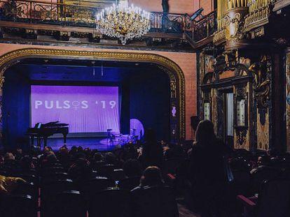 Homenaje en marzo a las mujeres compositoras en el teatro de la Escuela Superior de Canto de Madrid, uno de los centros afectados por las polémicas oposiciones a catedráticos.
