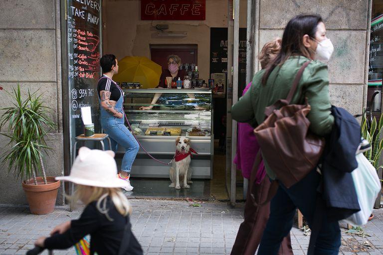 El restaurante Eroica Caffe Barcelona, desde el inicio del confinamiento trabaja con pedidos a domicilio y ahora también para llevar.