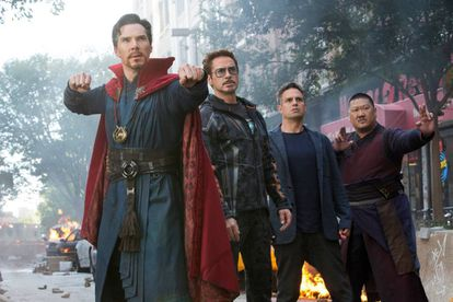 Una imagen de 'Los Vengadores: Infinity War'.