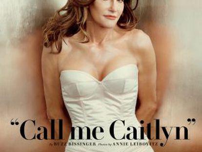 Caitlyn Jenner, en la portada de 'Vanity Fair'.