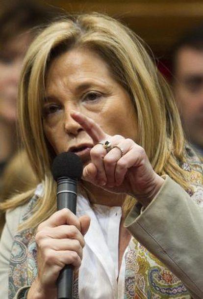 Joana Ortega, vicepresidenta de la Generalitat.