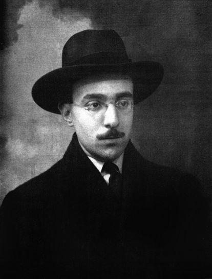 Fernando Pessoa a los 26 años, en 1914.
