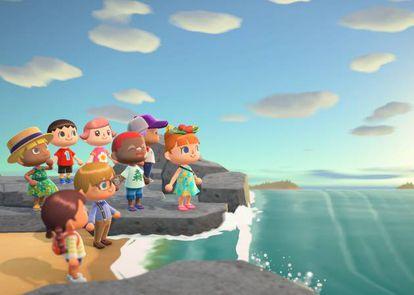 Imagen promocional de 'Animal Crossing: New Horizons'.