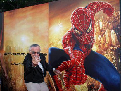 Stan Lee, en la premier de 'Spiderman 2', en 2004.