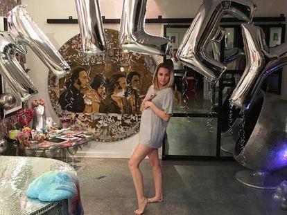 Miley Cyrus celebra su 25 cumpleaños.